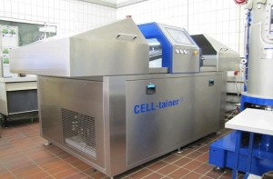 Celltainer biotechnological supplies